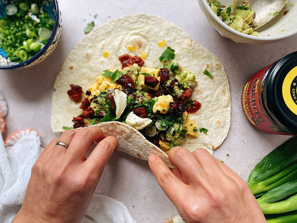 Breakfast Burrito - Mexican Breakfast Recipes