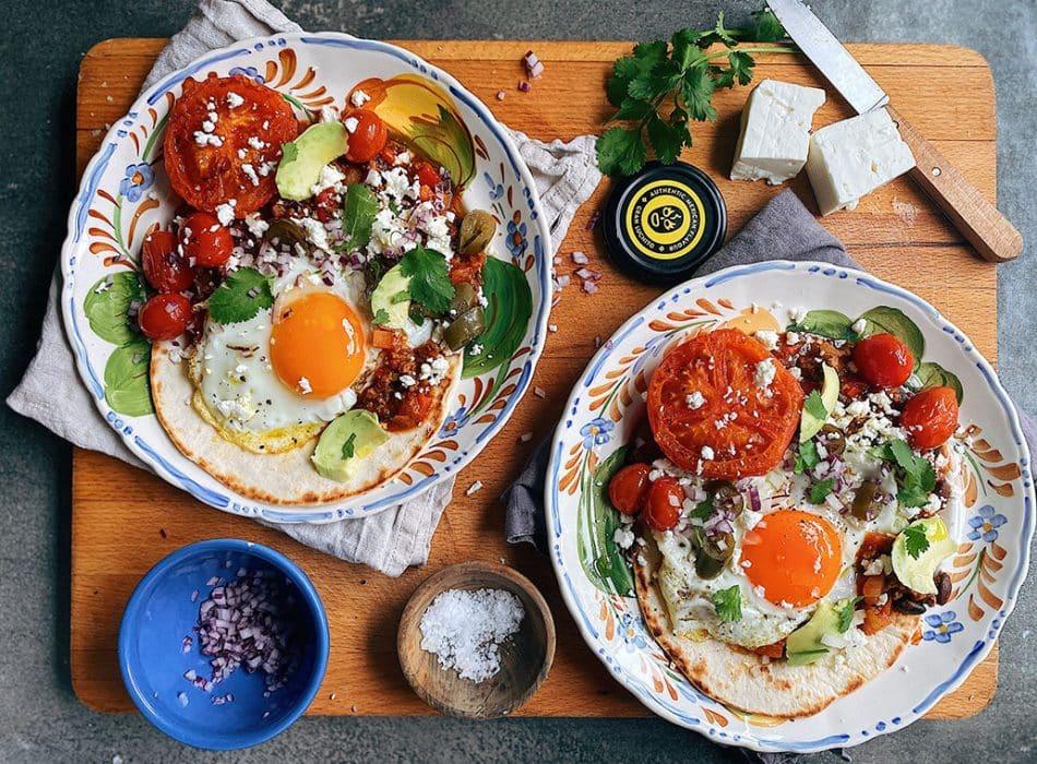 Breakfast Chilli finished dish