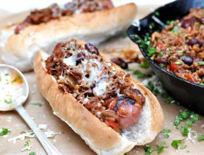 Smoky Chilli Dogs