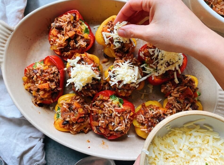 Chilli Stuffed Peppers