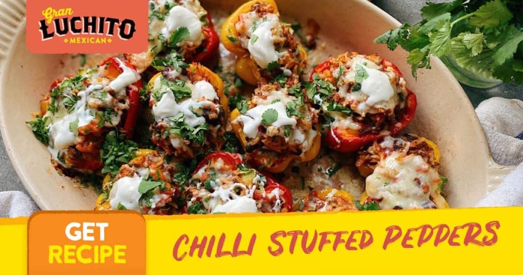 Chilli Stuffed Peppers