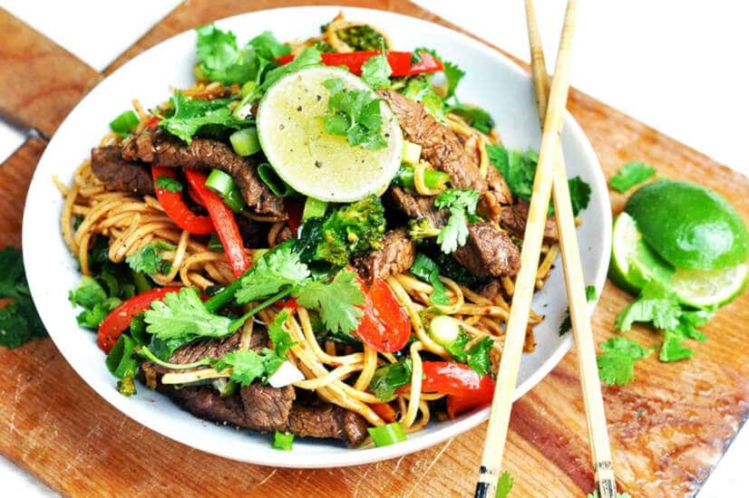 Chipotle Beef Stir Fry