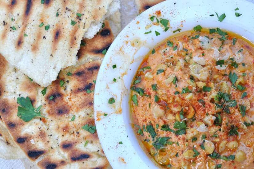 Chipotle Hummus Dip