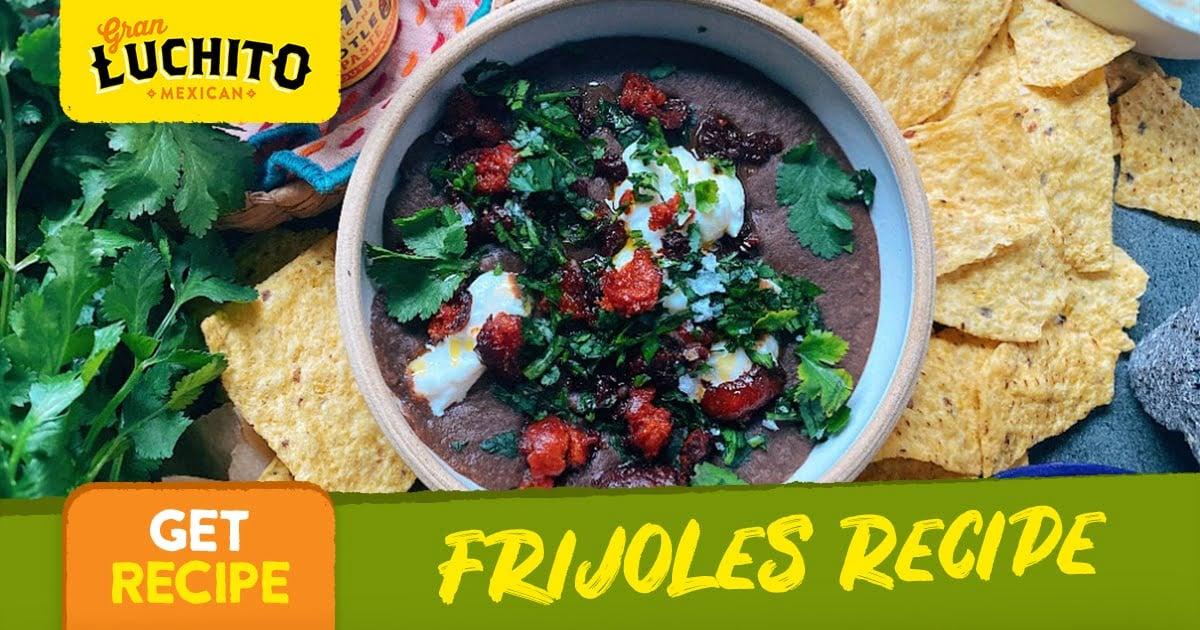 Frijoles Recipe