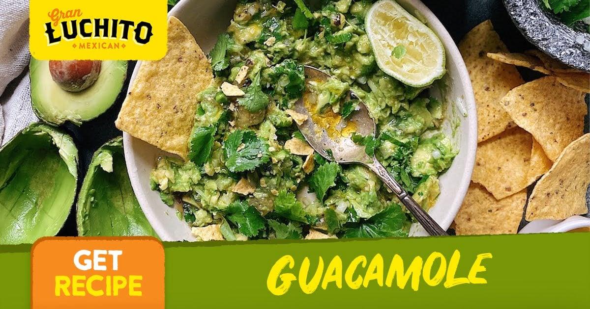 Guacamole -How To Make Nachos
