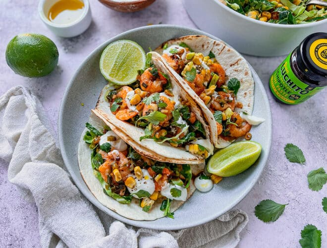 Chipotle Prawn Tacos