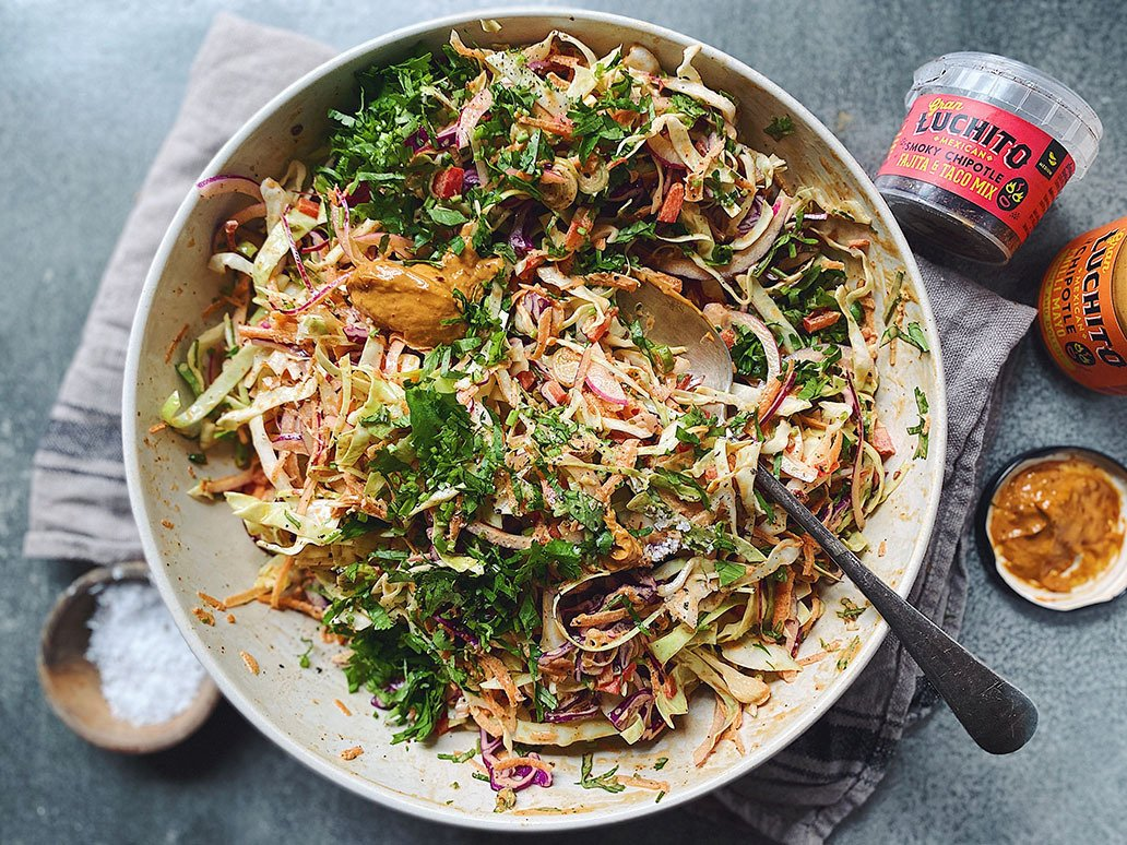 Mexican Coleslaw - Mexican Side Dishes