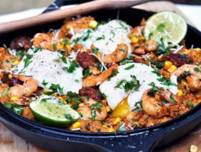 Creamy Mexican Polenta