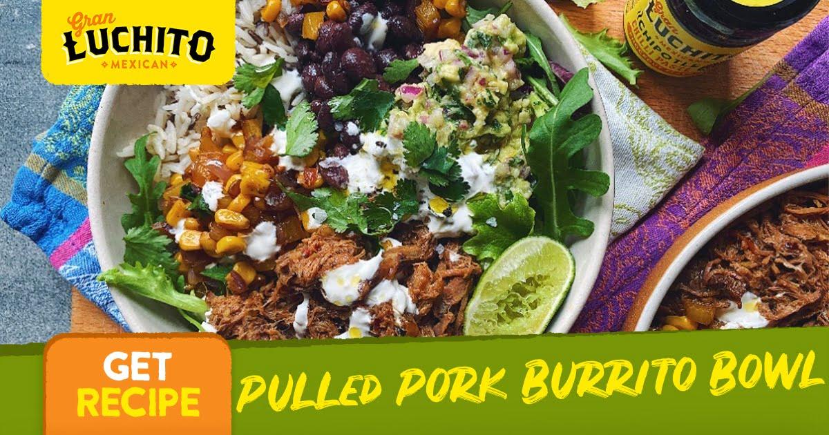 Pulled Pork Burrito Bowl