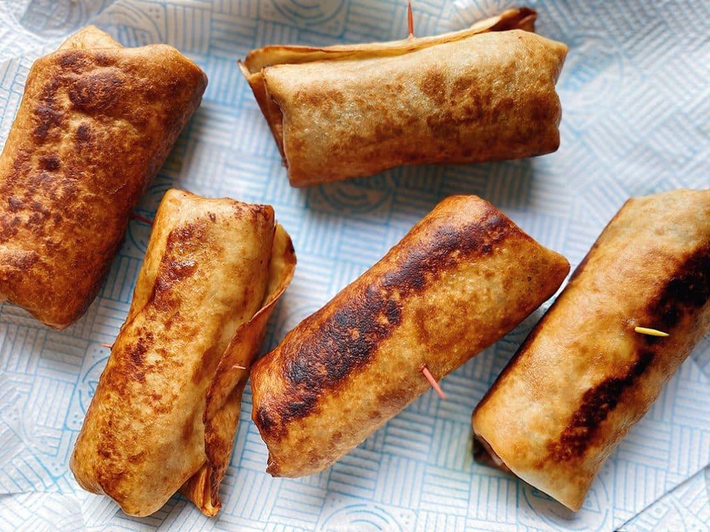 Pulled Pork Chimichanga