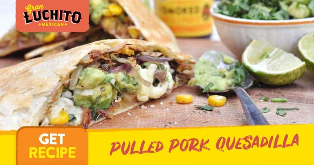 Pulled Pork Quesadilla