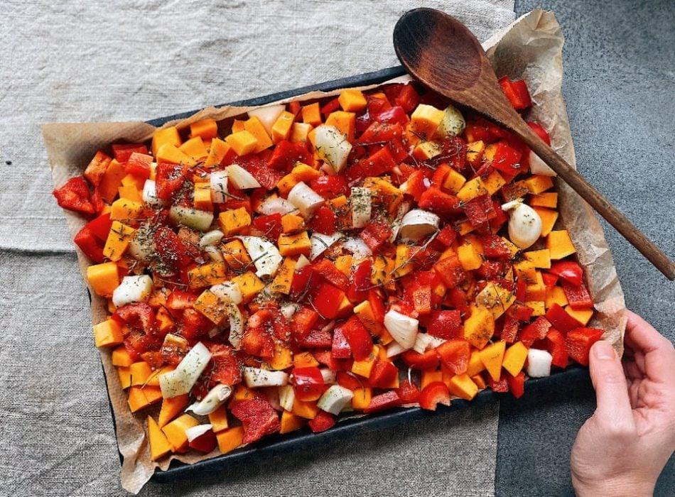 Vegan Chilli Con Carne prep step