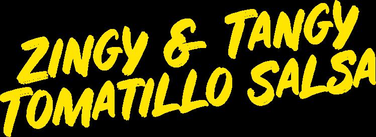 Zingy & Tangy Tomatillo Salsa