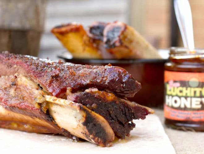 Beef Short Ribs With Chipotle Honey