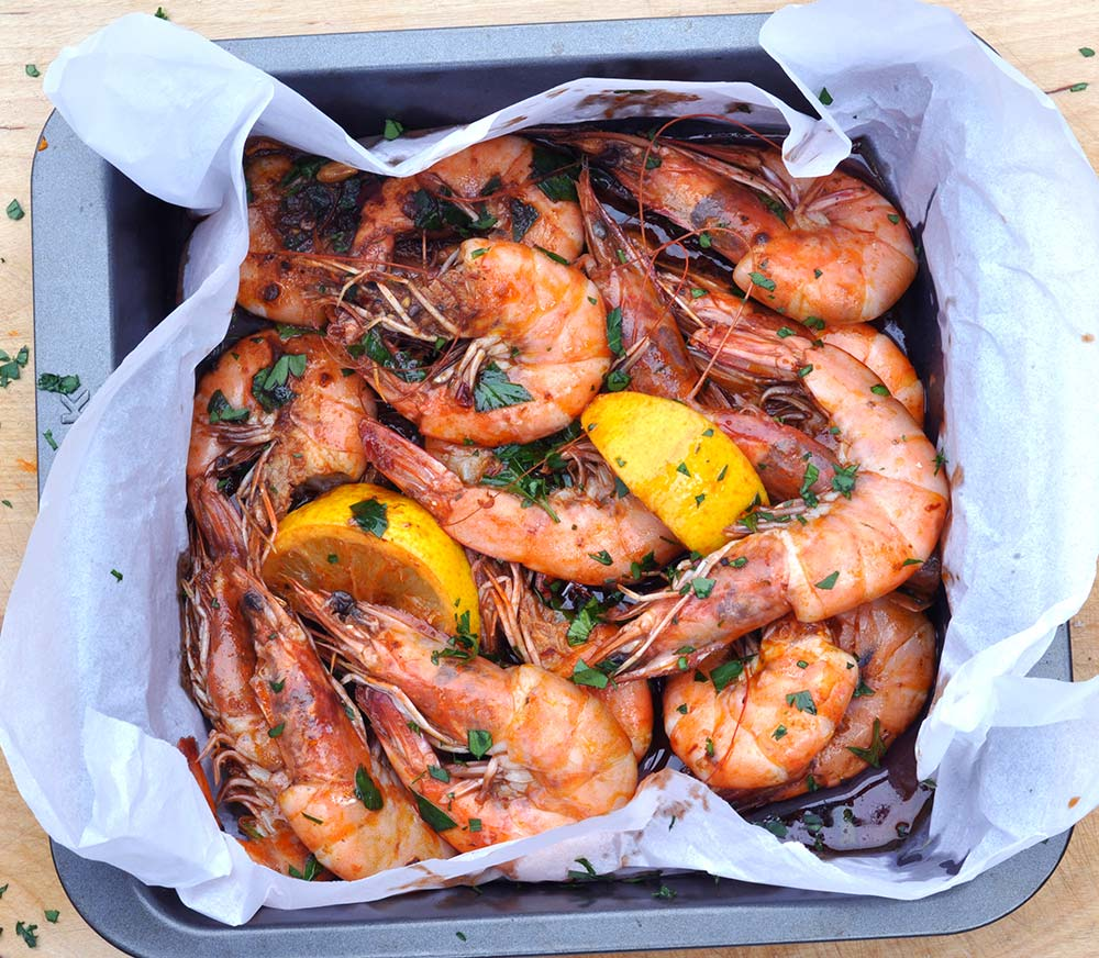 Chipotle Chilli King Prawns