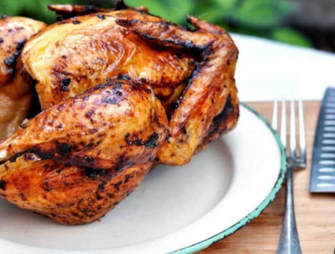 Chipotle Beer Can Chicken