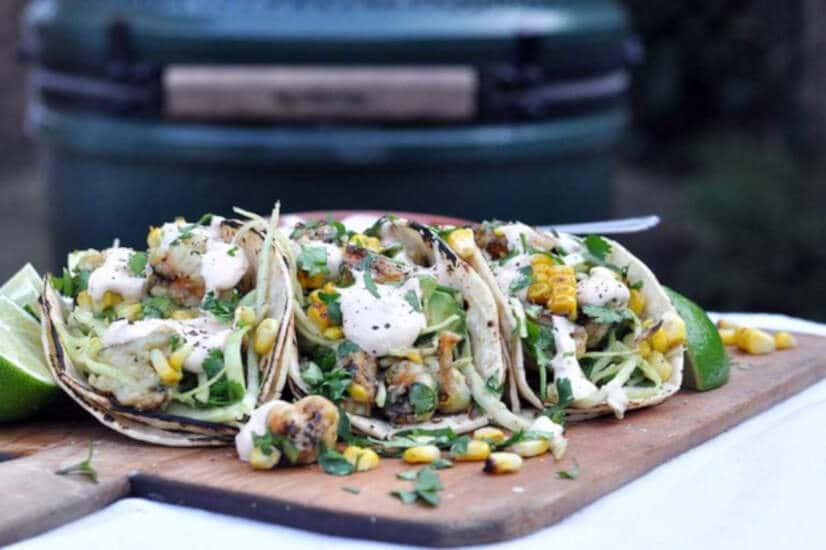 Chipotle Prawn Tacos