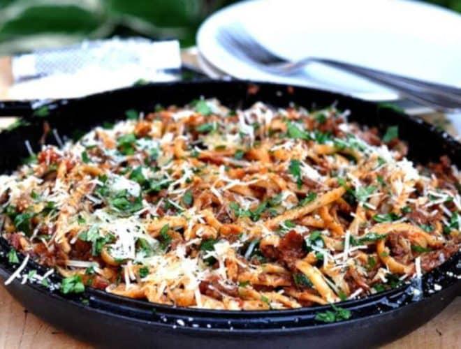 Chipotle Spaghetti Bolognese