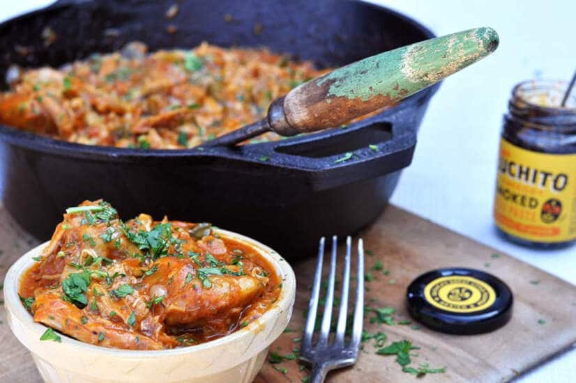 Spicy Creole Chicken Casserole