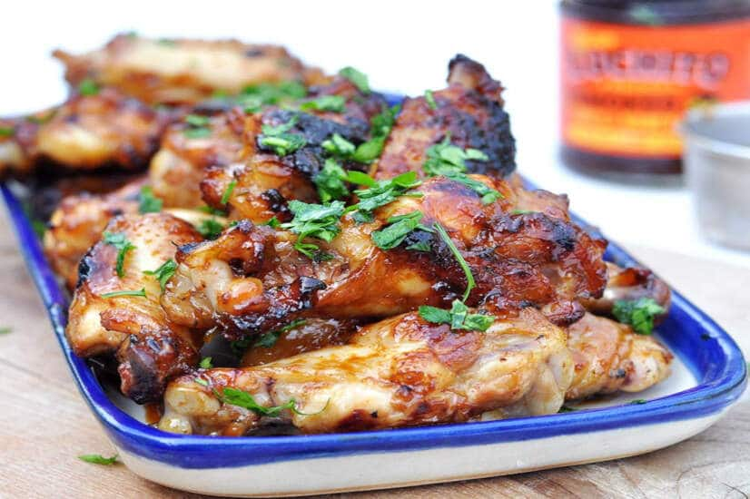 Chipotle Honey Chicken Wings