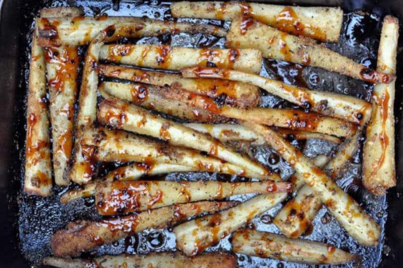 Honey Roast Parsnips
