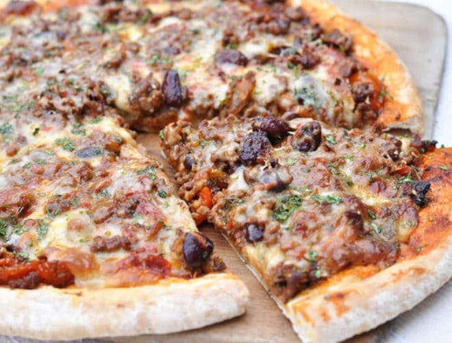 Chilli Con Carne Meat Feast Pizza