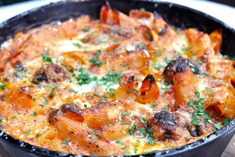 Meatball Pasta Bake Recipe - Grand Luchito
