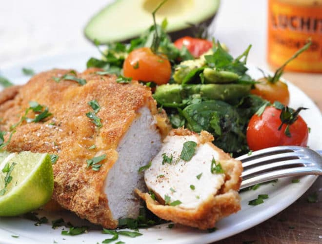 Mexican Breaded Chicken