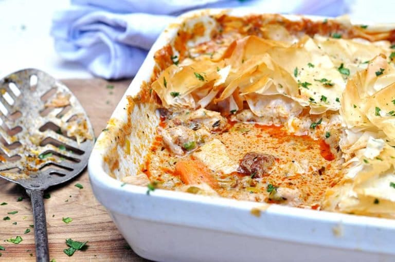 Mexican Chicken Pie