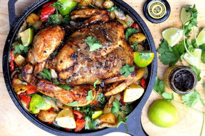 Mexican Roast Chicken