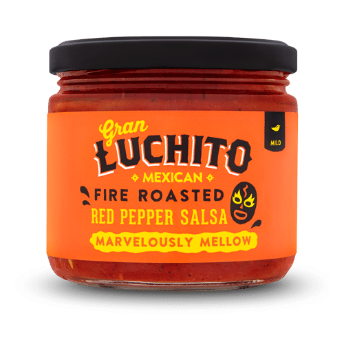 Roasted Red Pepper Salsa Mexican