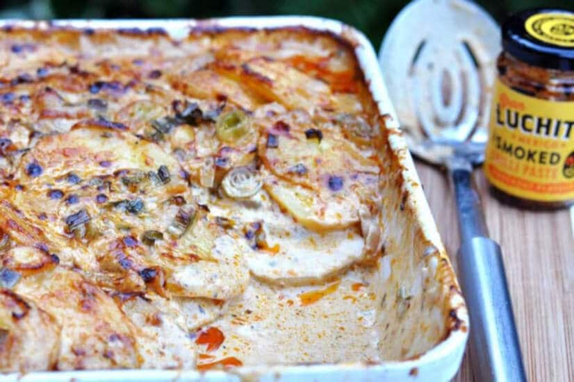 Chipotle Potato Gratin