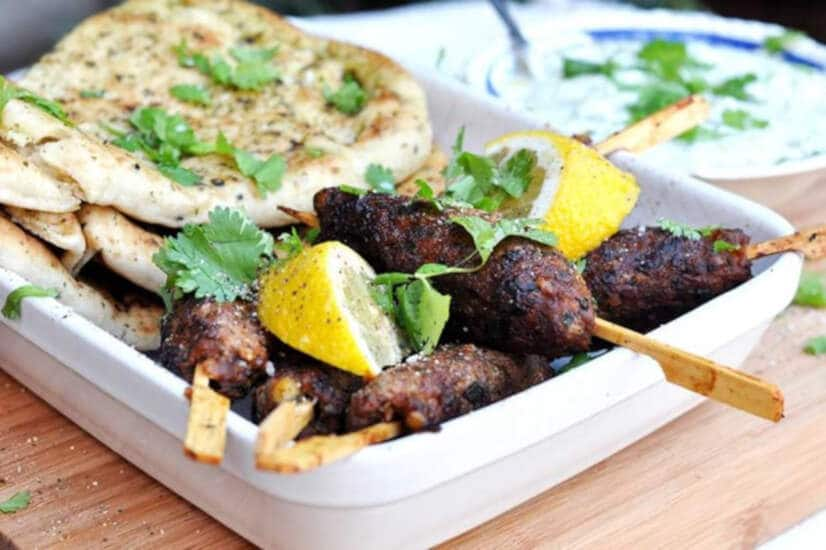 Spicy Lamb Koftas