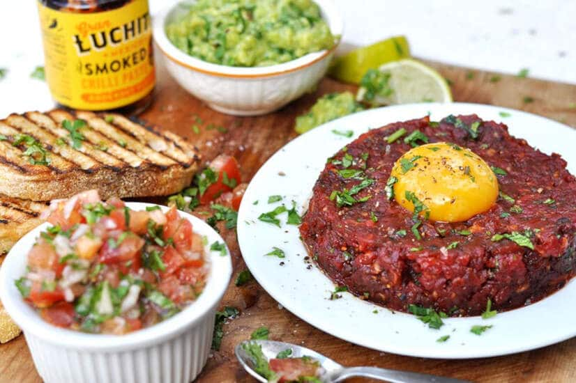Mexican Steak Tartare