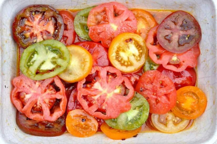 Goat's Cheese & Tomato Salad