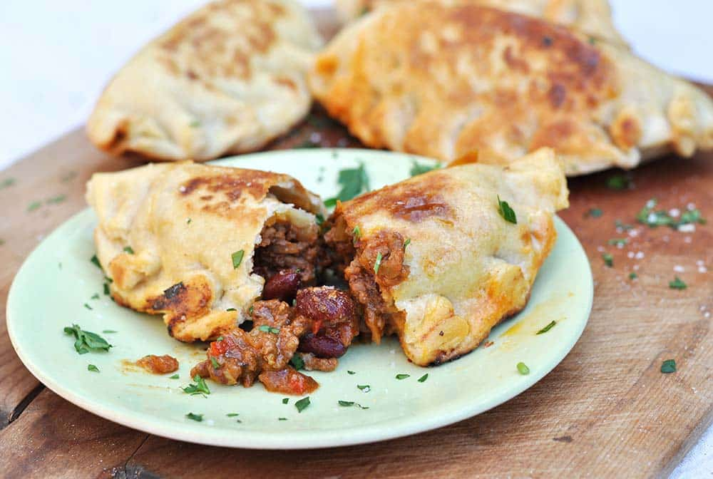 Chilli Con Carne empanadas Late Night Snack