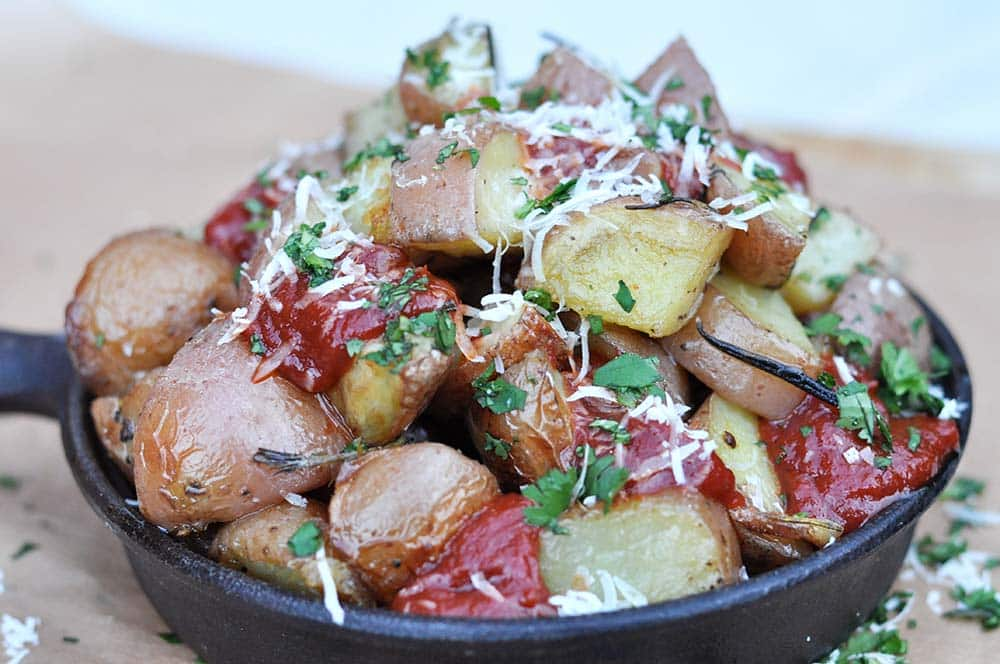 Patatas Bravas Late Night Snack