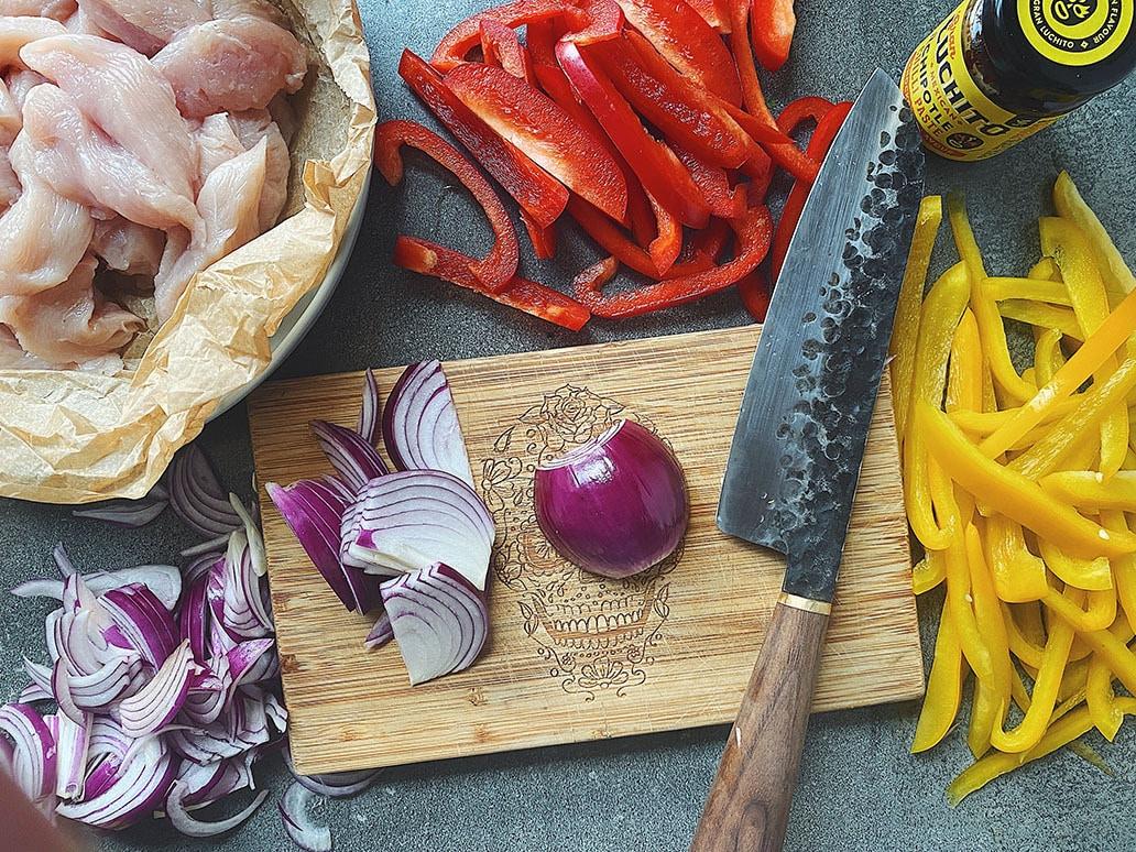 Smoky Chipotle Chicken Fajitas - Fajita Recipes