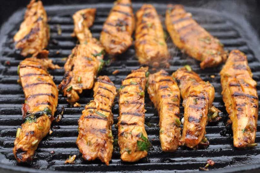 Smoky Chipotle Chicken Fajitas