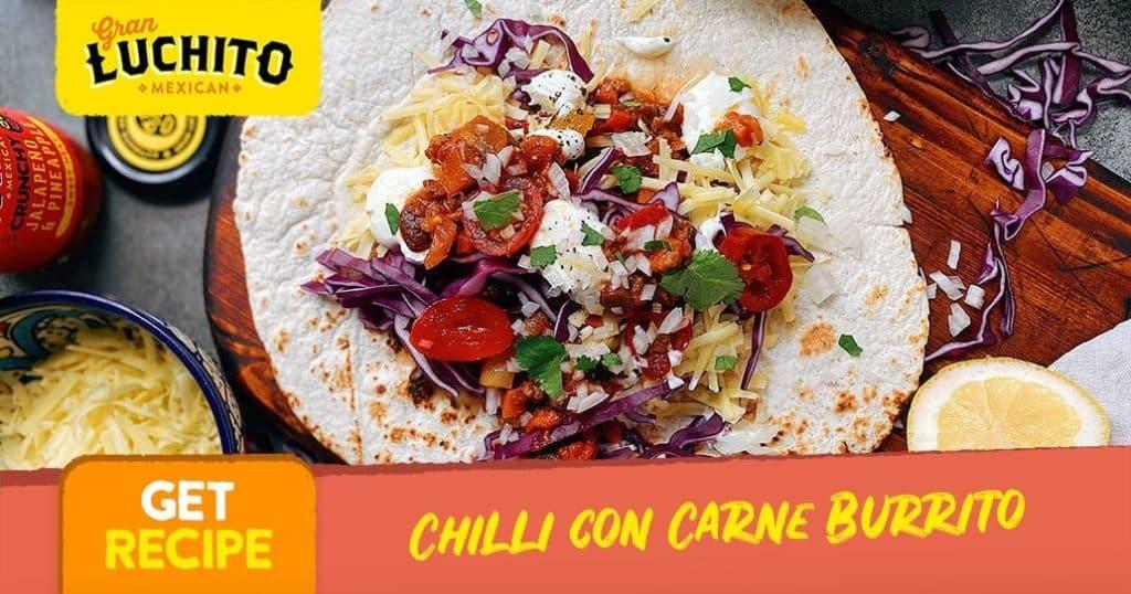 Leftover Chilli Con Carne Recipes - burrito recipes