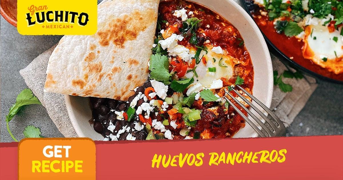 Huevos Rancheros - Mexican Breakfast Recipes