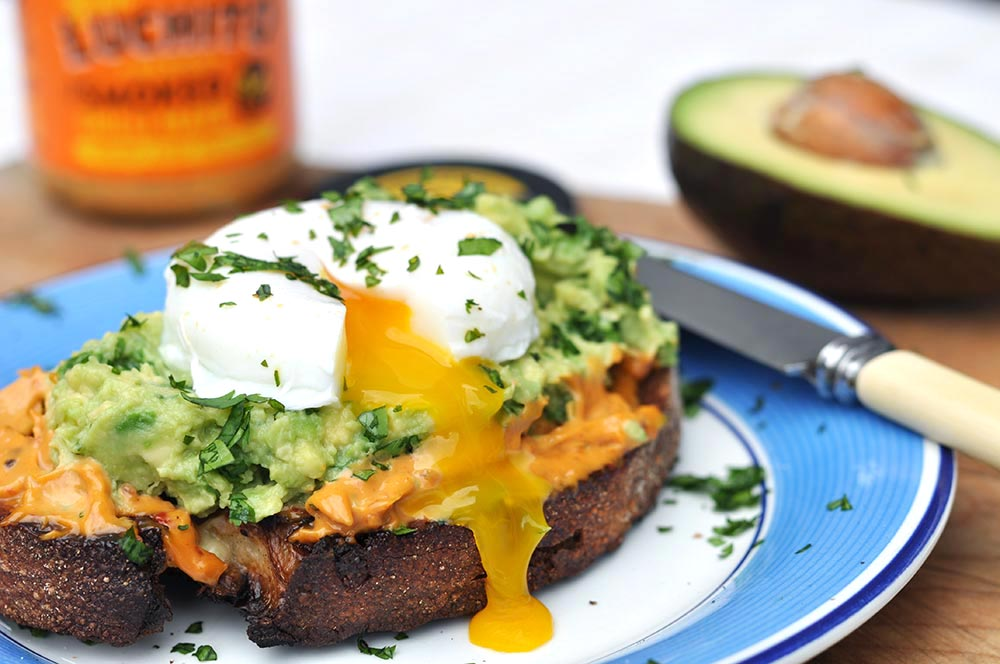 Poached Egg With Avocado Toast- Chipotle Mayo Recipes