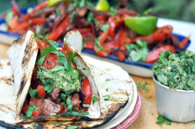 Chipotle Steak Fajitas