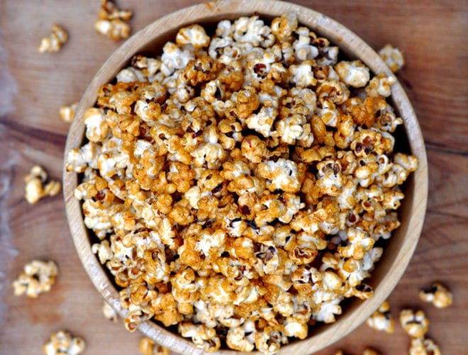 Chipotle Honey Popcorn