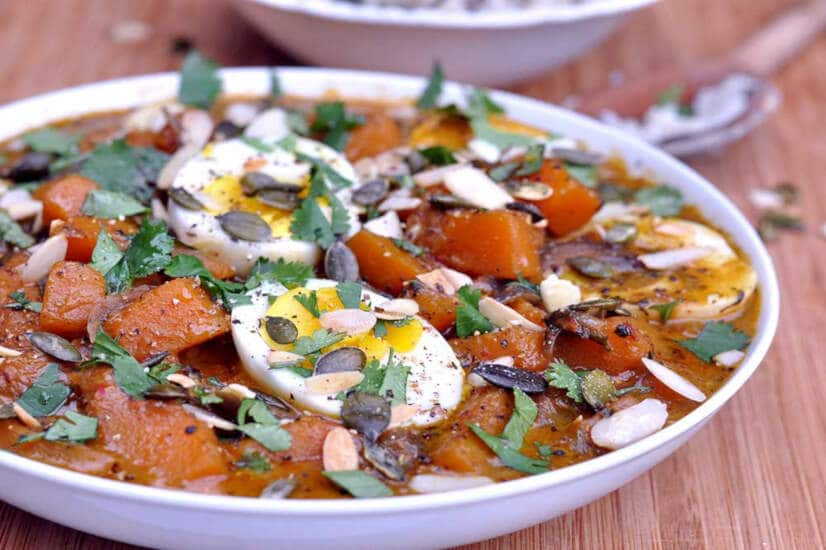 Egg Curry with Squash & Ginger
