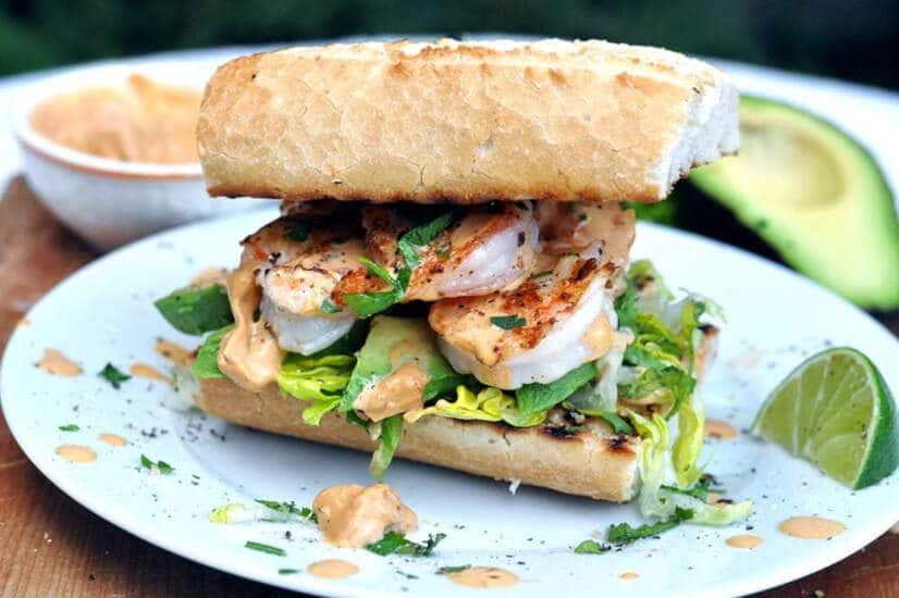King Prawn Sandwich
