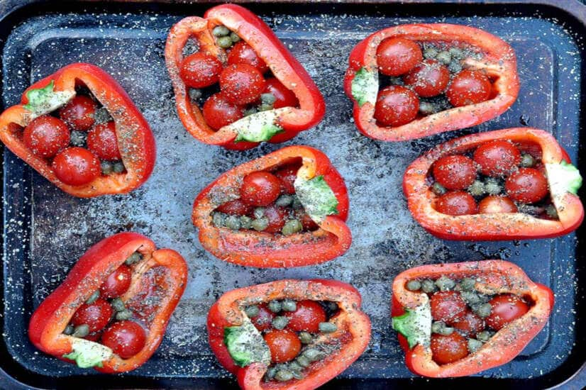 Slow Roasted Peppers