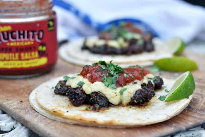 Vampiro Beef Tacos