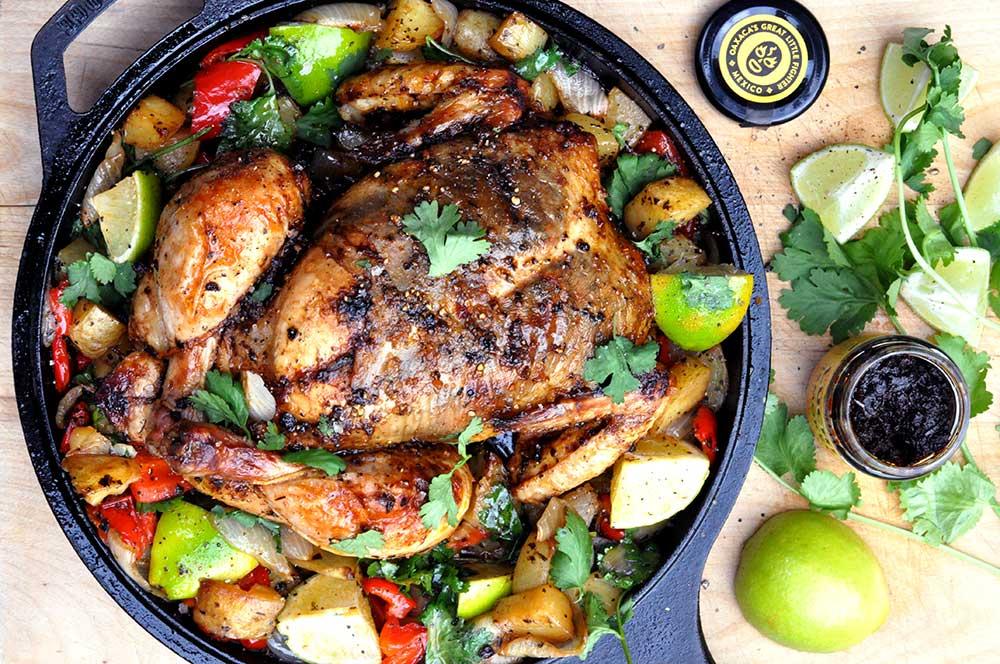 Mexican Roast Chicken