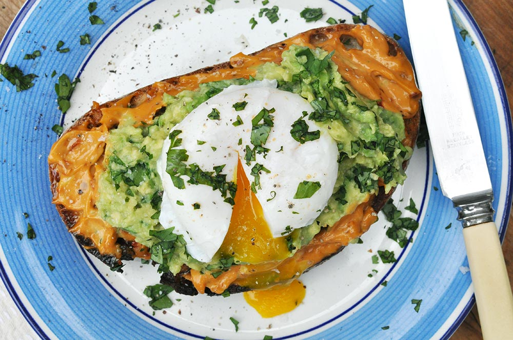 Poached Egg with Avocado Toast